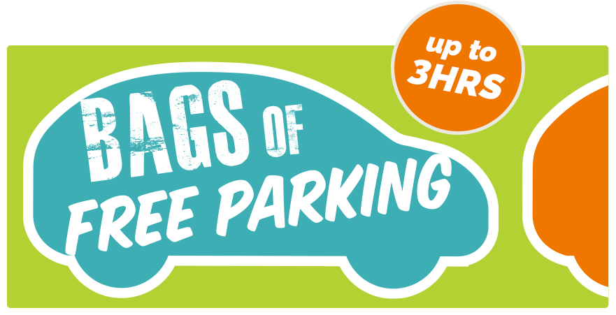 Bags of FREE Parking