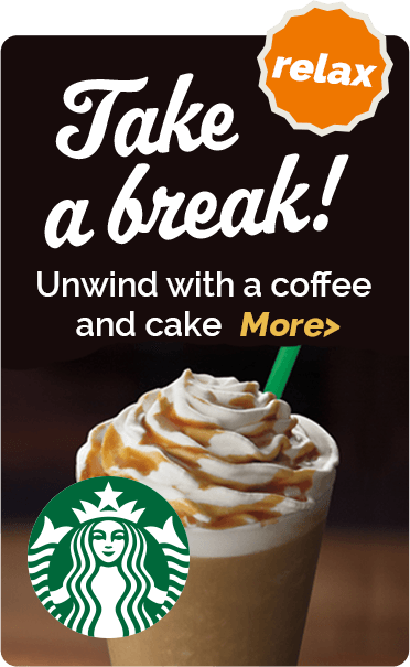 Take a break - Unwind with a snack or beverage